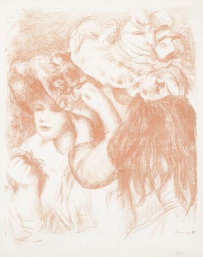 Pierre-Auguste Renoir, 'Le chapeau épinglé, 1ere planche (Delteil, Stella 29)', 1897