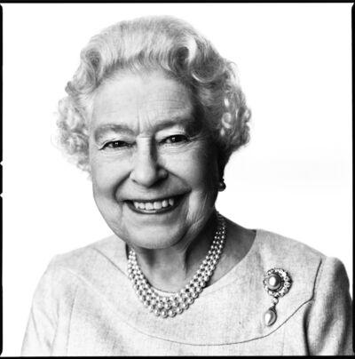 David Bailey, 'Queen Elizabeth II', 2014