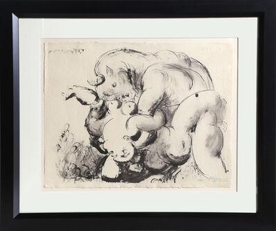 """Pablo Picasso, 'Minotaure Violant Une Femme from the portfolio """"La Flute Double""""', 1967"""