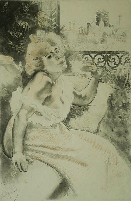 Louis Legrand, 'Spleen (Melancholy)', 1900