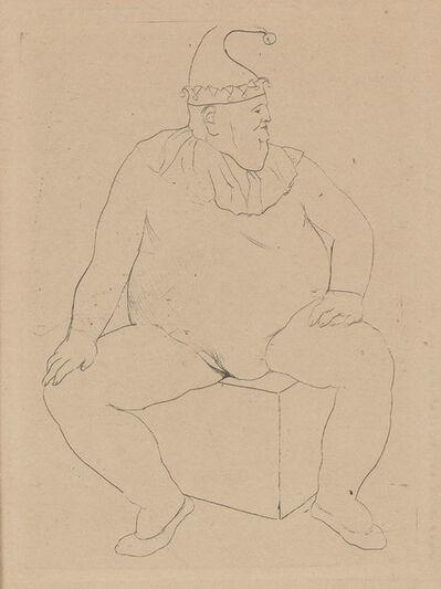 Pablo Picasso, 'Le Saltimbanque Au Repos (Bloch 10)', 1905