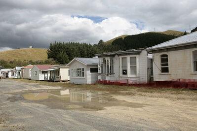 Lara Almarcegui, 'Relocated houses, Briton's Yard, Wellington', 2009