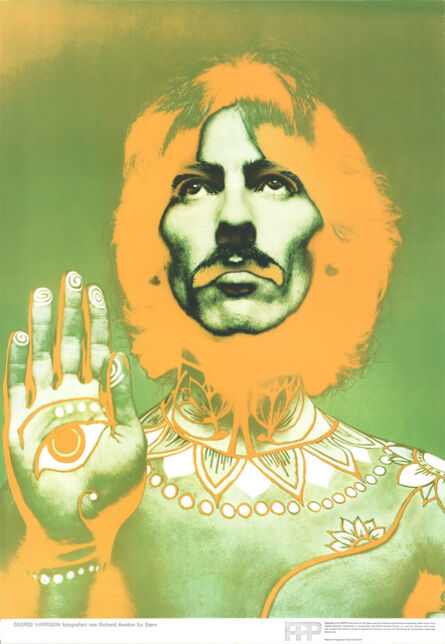 Richard Avedon, 'George Harrison', 1967