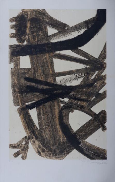 Pierre Soulages, 'Peinture 1947', ca. 1960