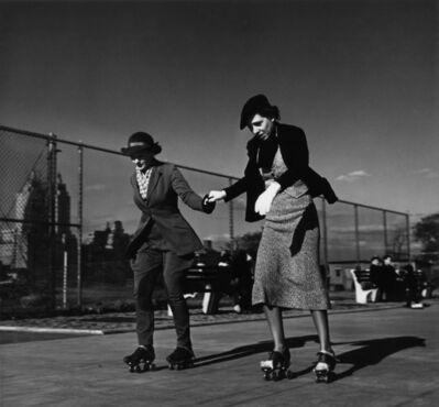 John Gutmann, 'The Lesson, Central Park, New York', 1936