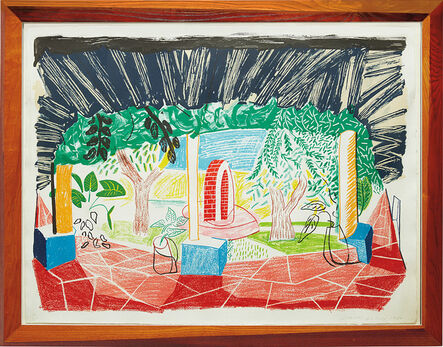 David Hockney, 'Views of Hotel Well I, from Moving Focus series', 1985