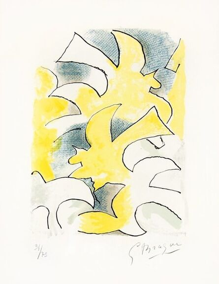 Georges Braque, 'Migration from Lettera Amorosa', 1963