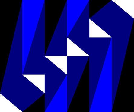 Gary Andrew Clarke, 'Blue Cascade', 2020