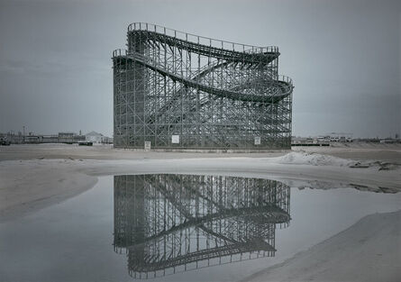 Michael Massaia, 'Great White Coaster & Tidal Pool Reflection-Predawn-Wildwood,NJ', 2020