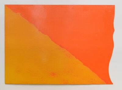 Roland Reiss, 'Red Edge ', 1968