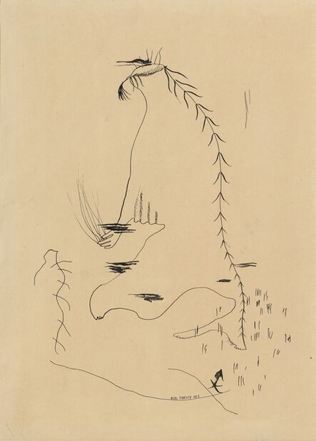 Yves Tanguy, 'Dessin Automatique (Automatic Drawing)', 1927