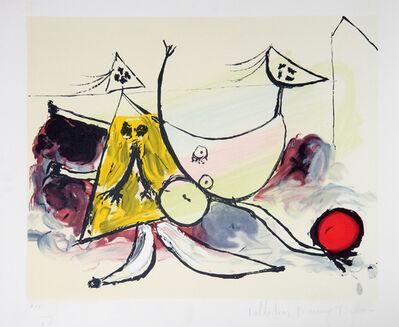 Pablo Picasso, 'Femme Sur la Plage Jouant au Ballon, 1933', 1979-1982