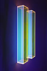 Regine Schumann, 'Colormirror Rainbow Glow after Soft Orange', 2019