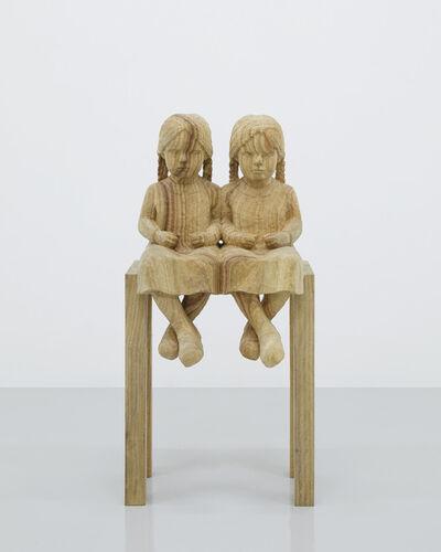 Rieko Otake, 'double children', 2017