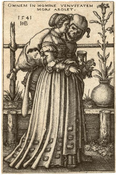 Hans Sebald Beham, 'The Lady and Death', ca. 1541
