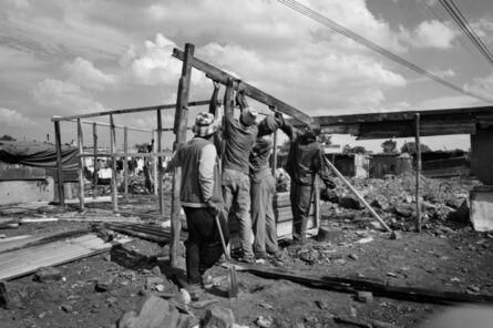 Lindokuhle Sobekwa, 'Rebuilding', 2014