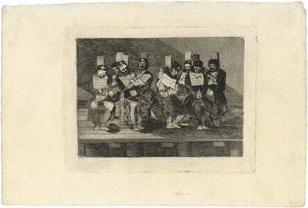 Francisco de Goya, 'No se puede saber por qué  - One can't tell why', ca. 1808-14