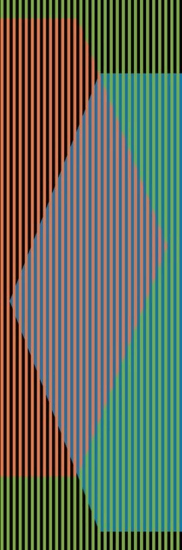 Carlos Cruz-Diez, 'Color Aditivo Triangular Uno', 2010