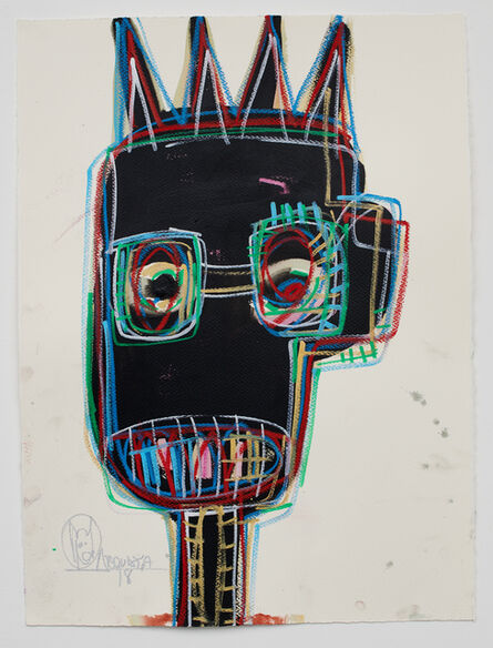 Aboudia, 'Untitled', 2018