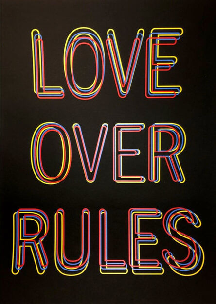 Hank Willis Thomas, 'Love Over Rules', 2020