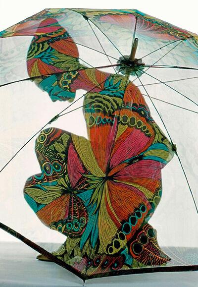 Frank Horvat, 'Cover for Harper's Bazaar (C) - Umbrella, Paris', 1967-Printed 2014
