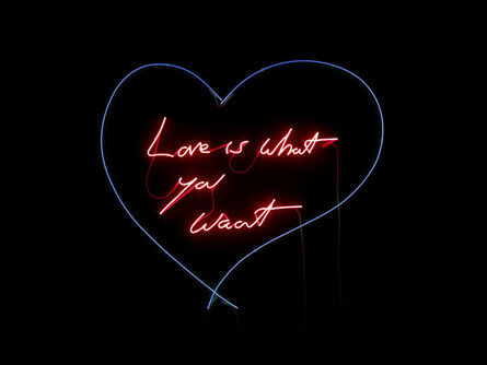 Tracey Emin, 'Love is what you want', 2011