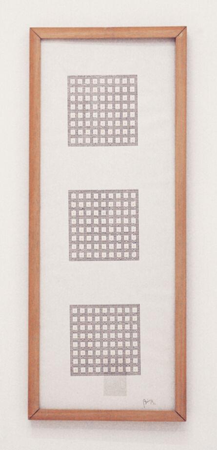 Tomaso Binga, 'Ho battuto le mani', 1982