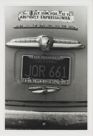 Dennis Hopper, 'The only ism for me is abstract expressionism', 1963