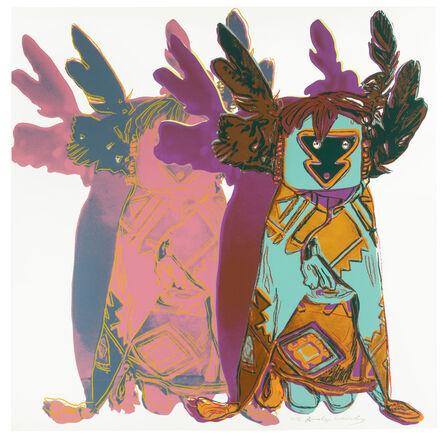 Andy Warhol, 'Kachina Dolls', 1986