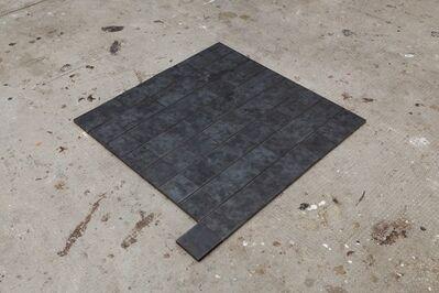Simon Nicaise, 'Steel Piece, d'après une pièce de Carl Andre', 2011
