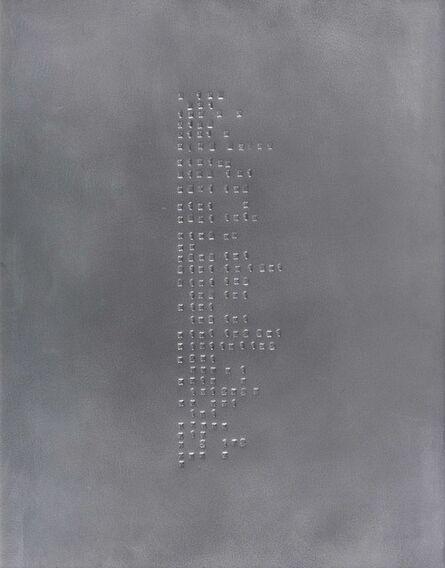 Pierre Poggi, 'Litanie', 2003