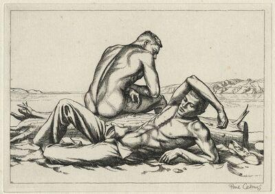 Paul Cadmus, 'Two Boys on a Beach #2.', 1939