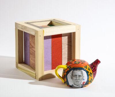 Roberto Lugo, 'Barack Obama Teapot and Box Set', 2021