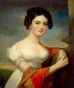 Jacob Eichholtz, 'Julianna Hazlehurst', ca. 1820