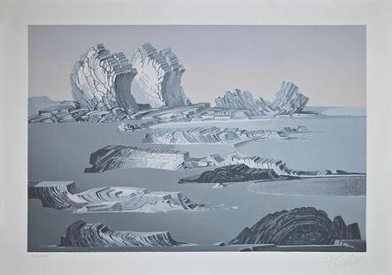 Fabrizio Clerici, 'Rocky Landscape', 1980 ca