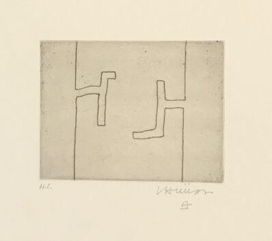 Eduardo Chillida, 'Ze IV', 1969