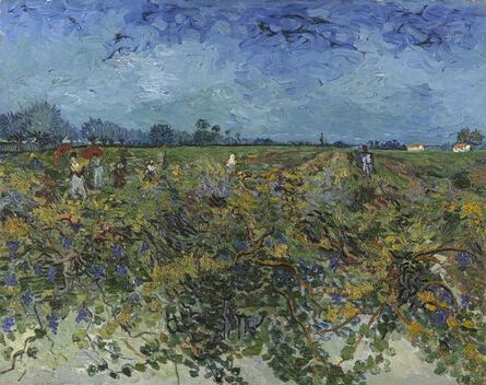 Vincent van Gogh, 'The Green Vineyard', 1888