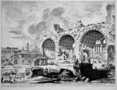 Giovanni Battista Piranesi, 'The Basilica of Constantine', 1757