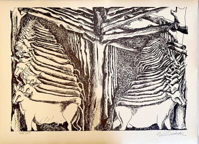 Ossip Zadkine, 'The Labours of Hercule - The Augean Stables', 1960