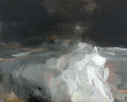 Edwige Fouvry, 'La Lune La Nuit', 2018