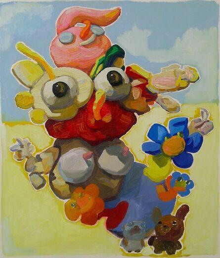 Peter Opheim, 'Garden Woman with Animals  (#261)', 2014