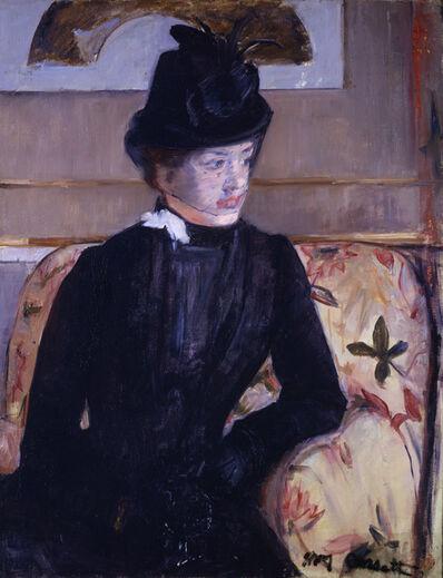 Mary Cassatt, 'Portrait of Madame J', 1883