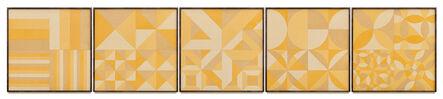 Haegue Yang, 'Turmeric Sheets Composition', 2021
