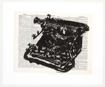 William Kentridge, 'Universal Archive (Ref 65)', 2012