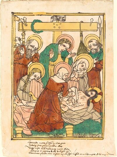 'The Lamentation', ca. 1450