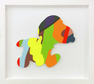 KAWS, 'UNTITLED (RUNNING SNOOPY)', 2020