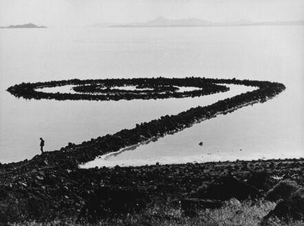 Gianfranco Gorgoni, 'Spiral Jetty', 1970