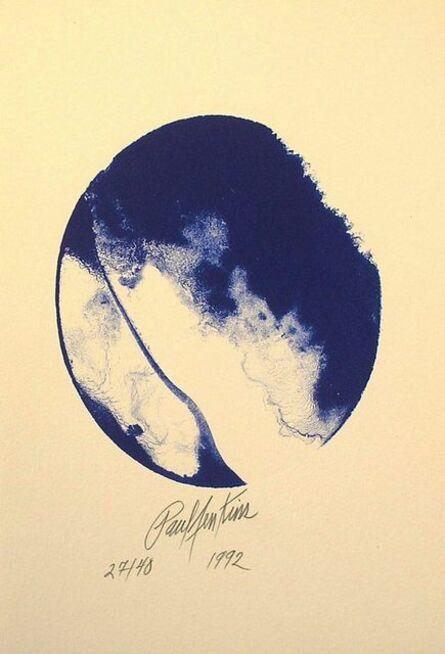 Paul Jenkins, 'Enter Blue', 1992