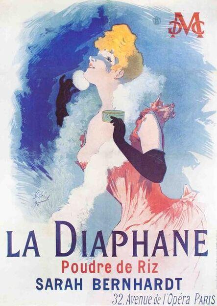 Jules Chéret, 'La Diaphane', 1976