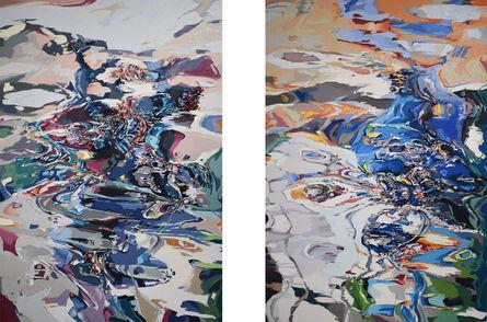 Anne Kagioka Rigoulet, 'Figure k-h-1/Figure k-h-2', 2019